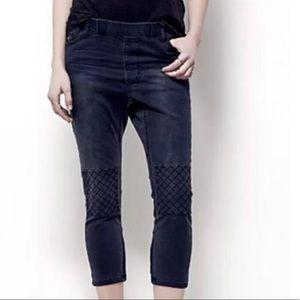 NWOT One Teaspoon For Freepeople  Crop Black Jeans